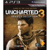 Ex-Display Uncharted 3 Drakes Deception Game Of The Year (GOTY) Edition PS3 Used - Like New