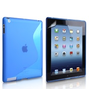 Caseflex iPad Mini 2  3 S-Line Gel Tablet Case - Blue