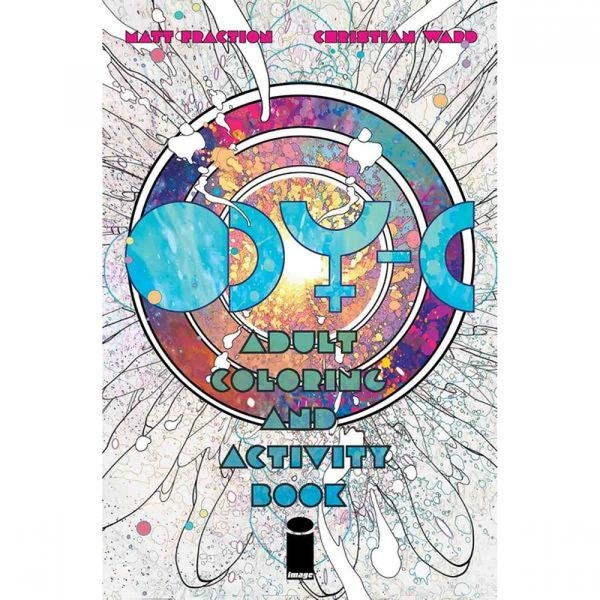 ODY-C Adult Coloring & Activity Book