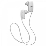 JVC Gumy Sports Bluetooth In Ear Headphones White