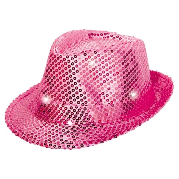 Sequins And Led Hat One Size