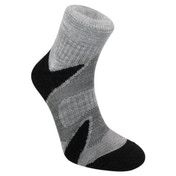 BridgedaleMen's CoolFusion Multisport Socks, Black/Silver - XL