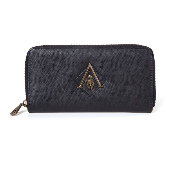 Assassin'S Creed - Metal Logo Badge Women's One Size Wallet - Black