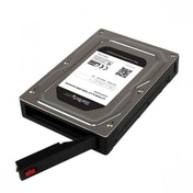 StarTech 2.5%u201D to 3.5%u201D SATA Aluminum Hard Drive Adapter Enclosure with SSD / HDD Height up to 12.5mm