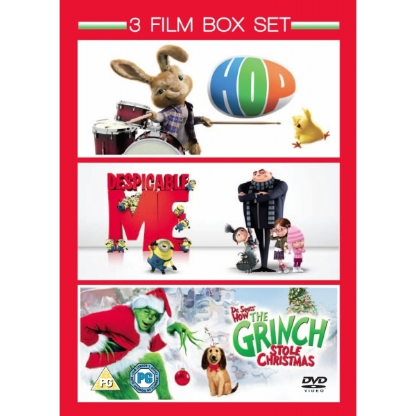 Hop & Despicable Me & The Grinch Box Set DVD