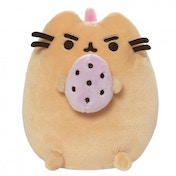 Pusheen Strawberry Banana Standing with Egg Soft Toy