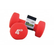 Yoga-Mad Neoprene Dumbbells 4KG