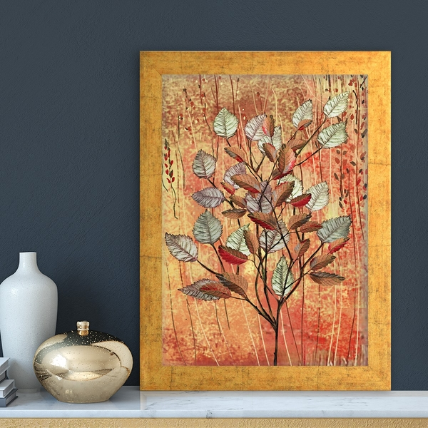 AC11677165093 Multicolor Decorative Framed MDF Painting