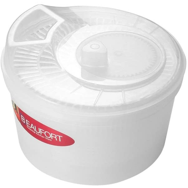 Beaufort Wash N Dry Salad Spinner Clear