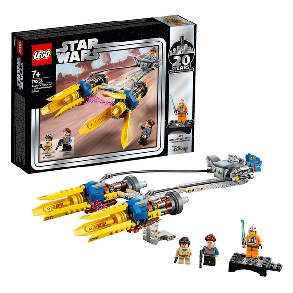 LEGO Star Wars Anakin's Podracer - 20th Anniversary Edition (75258) [Damaged]