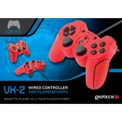 Gioteck VX-2 Wired Controller Red for PS3