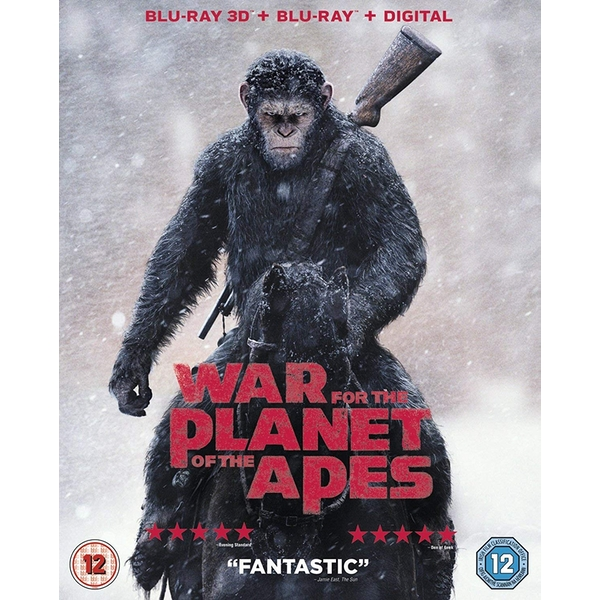 War For The Planet Of The Apes 3D Blu-ray