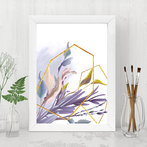 BC14873459633 Multicolor Decorative Framed MDF Painting