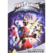 Power Rangers Ninja Steel: Survive - Volume 2  DVD