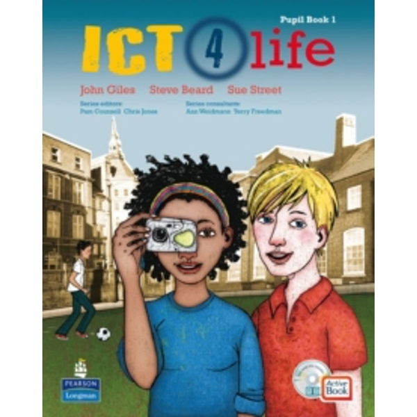 ICT 4 Life Year 7 Students' ActiveBook Pack with CDROM