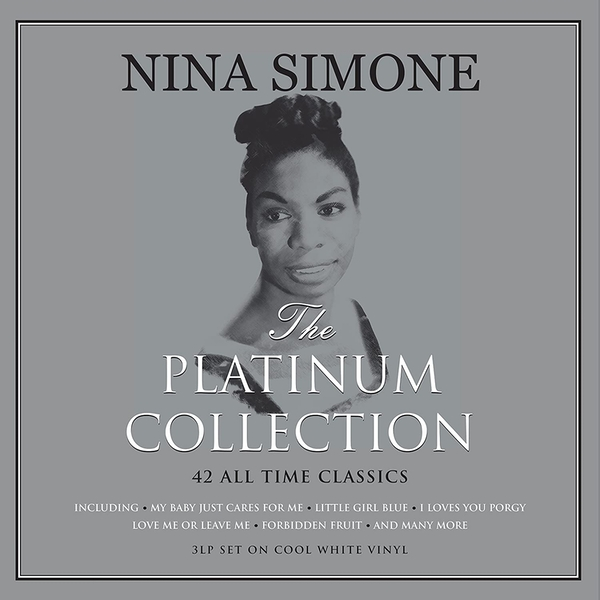 Nina Simone - Platinum Collection White Vinyl