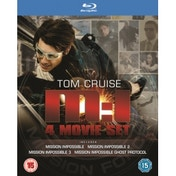 Mission Impossible 1-4 Blu-ray