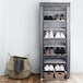 10 Tier Shoe Rack with Canvas Cover | Pukkr - Image 2