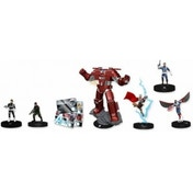Marvel HeroClix Nick Fury Agent Of Shield Brick - 10 Boosters