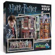 Ex-Display Harry Potter Hogwarts  Diagon Alley Wrebbit 3D Jigsaw Puzzle Used - Like New