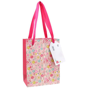 Pack of 10 Small Floral Gift Bags