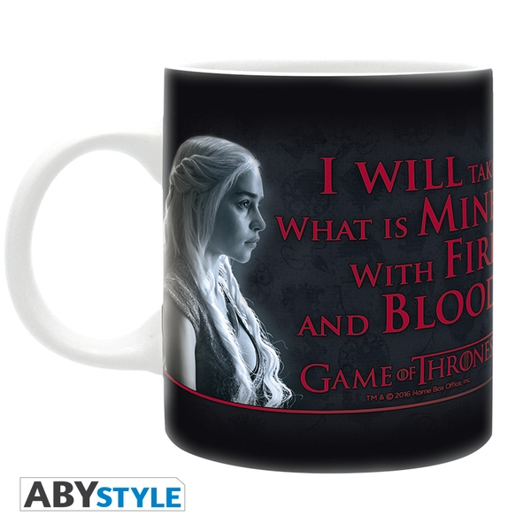 Game Of Thrones - Fire & Blood Mug