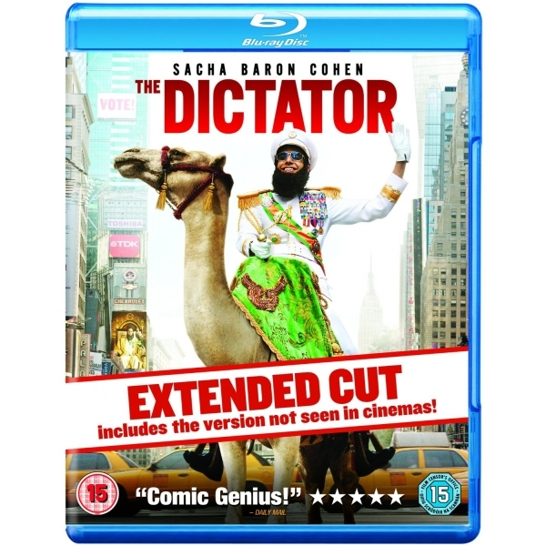 The Dictator Blu Ray