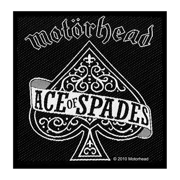 Motorhead - Ace Of Spades Standard Patch