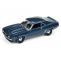 69 Chevy Camaro (50th Anniv) - Blue 1:64 Johnny Lightning Model