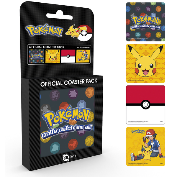 Pokemon Mix Coaster Pack