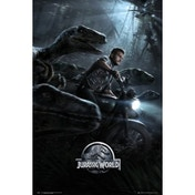 Jurassic World Raptors One Sheet Maxi Poster