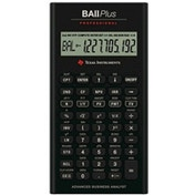 Texas Instruments IIBAPRO/TBL/4E6 Professional Financial Calculator