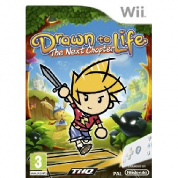 Drawn To Life The Next Chapter Game Wii