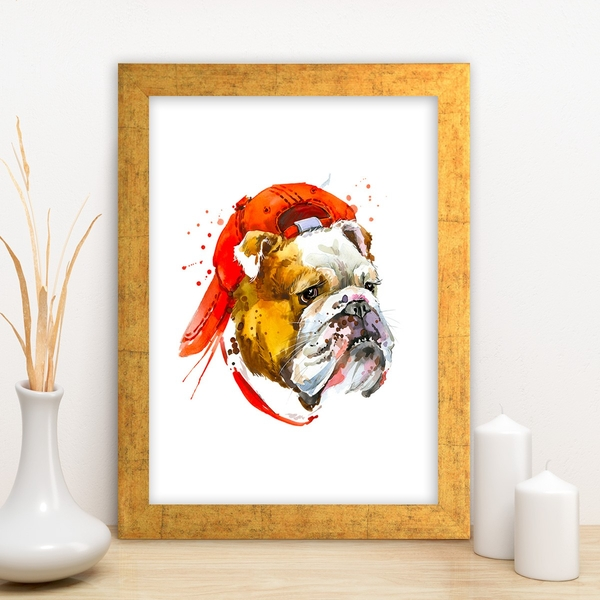 AC12291373487 Multicolor Decorative Framed MDF Painting