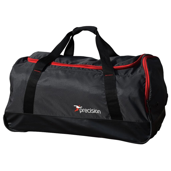 Precision Pro HX Team Trolley Holdall Bag - Charcoal Black/Red