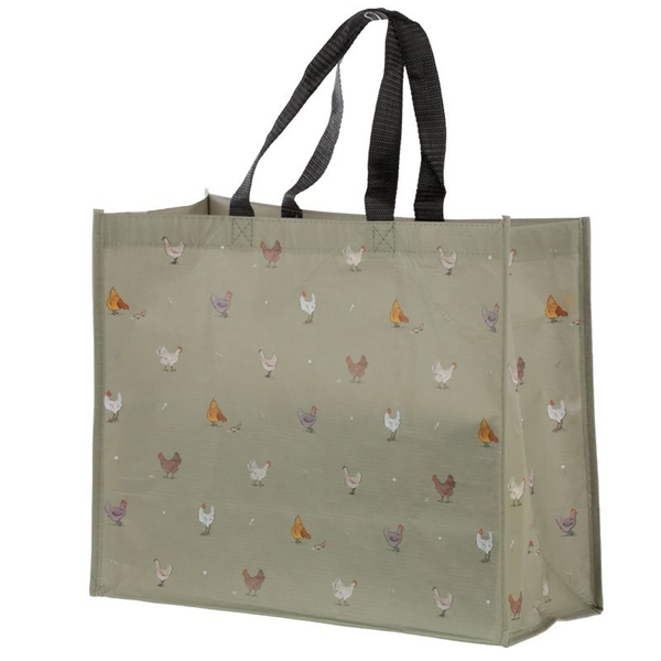 Willow Farm Chicken Recycled Plastic Bottles RPET Reusable Shopping Bag
