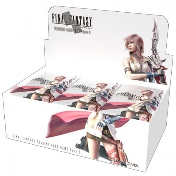 Final Fantasy TCG Opus 1 Trading Card Boosters (36 Packs)