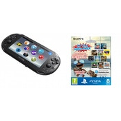 Playstation PS Vita Slim WiFi Console with 10 Game Mega Pack + 8GB Memory Card PS Vita