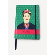 Frida Kahlo Green Vogue A5 Notebook