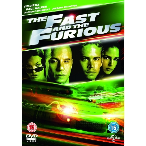 The Fast And The Furious DVD   UV