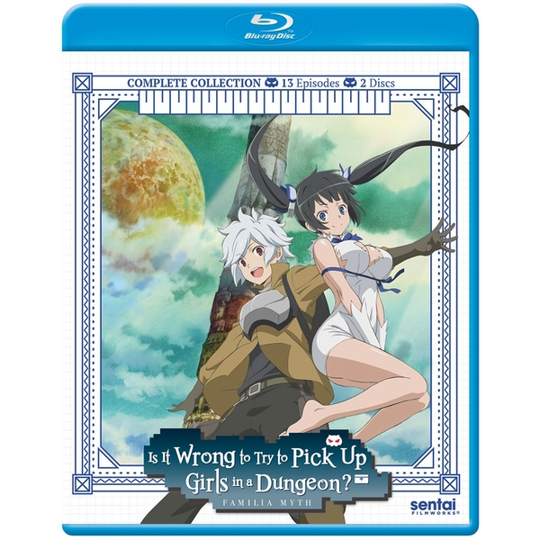 Is It Wrong To Try To Pick Up Girls In A Dungeon? Complete Season 1  DVD/Blu-ray Combo Pack