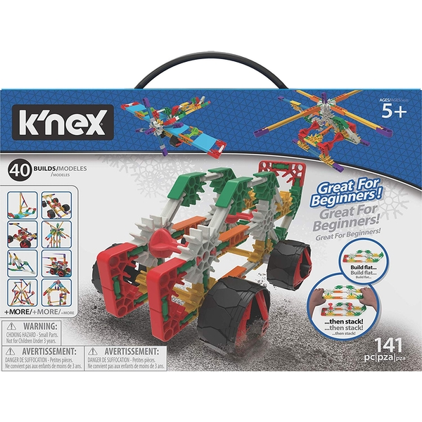 K'NEX Beginner 40 Model Building Set - Image 1
