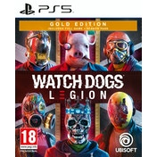 Watch Dogs Legion Gold Edition PS5 Game