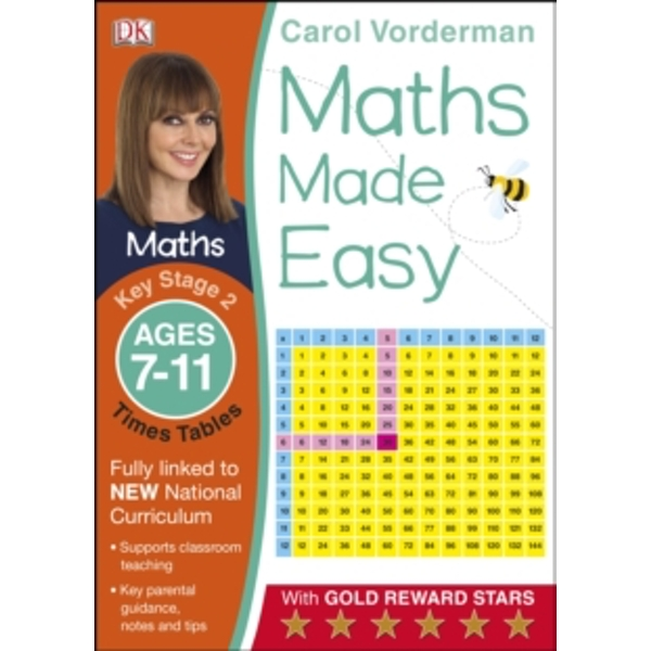 Maths Made Easy Times Tables Ages 7-11 Key Stage 2 by Carol Vorderman (Paperback, 2014)