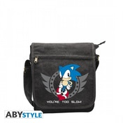 Sonic The Hedgehog Too Slow Messenger Bag