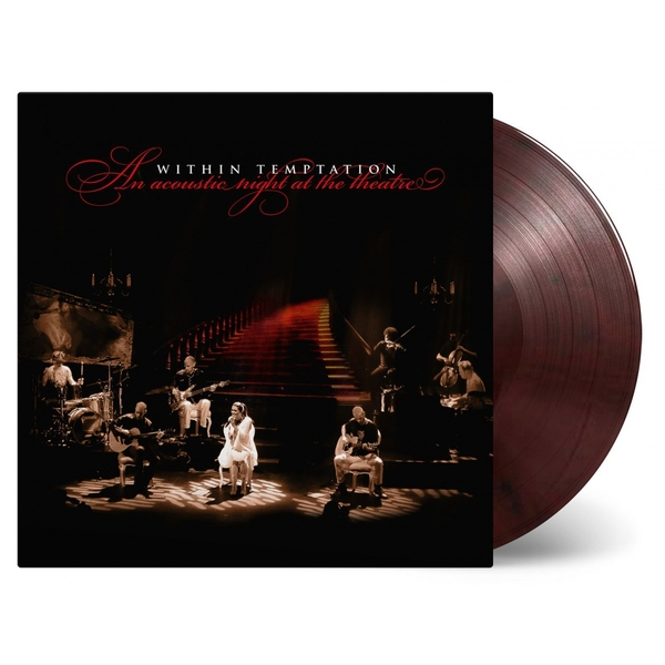 Within Temptation - An Acoustic Night At The Theatre Red & Black Marbled Vinyl