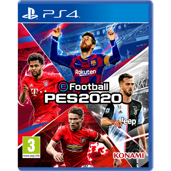 eFootball PES 2020 PS4 Game - Image 1