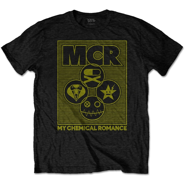 My Chemical Romance - Lock Box Men's X-Large T-Shirt - Black