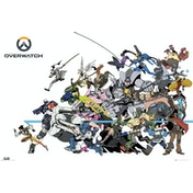 Overwatch Battle Maxi Poster