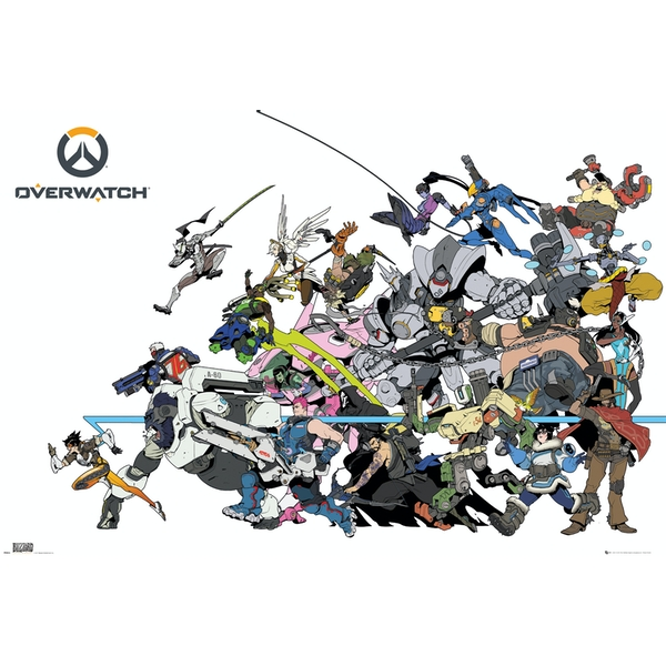 Overwatch Battle Maxi Poster - Image 1